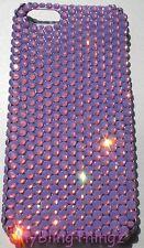 Cyclamen Opal Crystal Rhinestone Back Case for iPhone 4 4S w/ Swarovski Elements