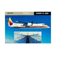 NEW - Boeing / De Havilland Dash 8 Srs 300 - Aircraft Postcard - Top Quality