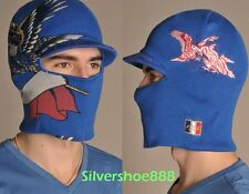 NWT ED HARDY MENS FRANCE EDITION CONVERTIBLE TO A CUFF CAP W/VISOR HAT/FACEMASK