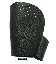 For Opel Vauxhall Vectra C 2002-05 Gear Knob Cover Black Perforated Leather