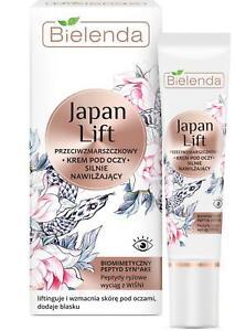 Bielenda Japan Lift Strongly Moisturizing Anti Wrinkle Eye Cream 15 ml