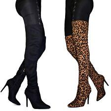 Scarpe leopardate donna a stivali e stivaletti da donna