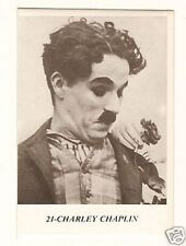 Charlie Chaplin - 1970 Belgian Sticker Card  Have a Look!