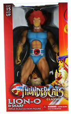Thundercats Lion-o With Snarf Mega Scale Action Figure by Mezco