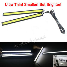 2pcs 12V White LED Long Strip Daytime Running Light DRL Car Fog Day Driving Lamp