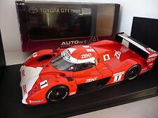 TOYOTA GT1 TS020 n°1 ZENT - 24H Le mans 1999 - Autoart 1/18 - gt one gt-1