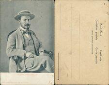 Cartolina Cesare Pascarella poeta e pittore
