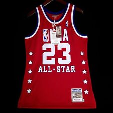 8b16a3e45fef 100% Authentic Michael Jordan Mitchell Ness 89 All Star NBA Jersey Size 40 M