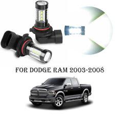For Dodge RAM 2003-2008 2x 80W 6000K LED Fog Driving Light Bulbs White 12V