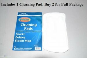 Cleaning Pad Shark* Deluxe Steam Mop. High Quality Micro-Fiber Cleaning Pads