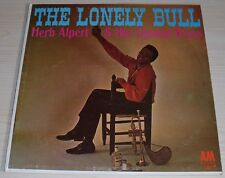 HERB ALPERT THE LONELY BULL ALBUM 1962 MONO A&M RECORDS A&M 101 TIJUANA BRASS