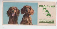 Buvard - Pétrole HAHN. Les chiens - TBE - réf. 78/3