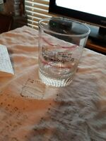 Vintage TRAILMOBILE TRUCK~Whiskey Glass~ADVERTISING PROMOTIONAL~Pullman~