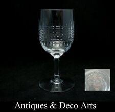 Cristal de Baccarat Modèle Nancy : Verre Vin Blanc H: 12,5cm