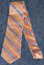 HSM Blue/Gold/Dotted Red/ DIAGONAL STRIPES MEN'S NECK TIE !!! FREE SHIPPING !!!