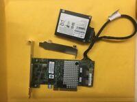 LSI 9267-8I PCI-E 8Port 512MB RAID 5 6  Key RAID Cards + Batter
