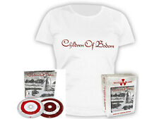 Children of Bodom-Halo of Blood-Box-CD + DVD + démoniaque shirt-Taille Size L
