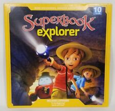 Superbook Explorer Volume 10 2017 DVD In the Beginning & Jacob and Esau CBN