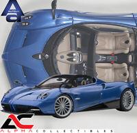 AUTOART 78286 1:18 PAGANI HUAYRA ROADSTER (BLU TRICOLORE CARBON FIBER) SUPERCAR