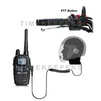 HM-1000 Open Face Motorbike Intercom Headset Midland Radio G5 G7 G7E Pro G8 G9