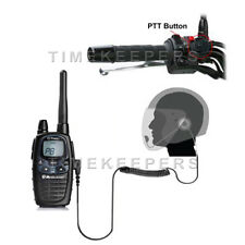 Hm-1000 cara abierta de Moto Intercomunicador con auricular Radio Midland G5 G6 G7 g7e G8 G9