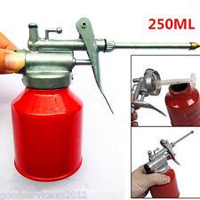 250ml Red Surface Metal Car Lubricants Storing High Pressure Pump Oiler Oil Gun