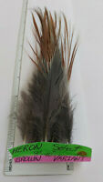 "10 SELECT HERON 8"" - 10"" FEATHERS "" SPEY ""  ( Brown Variant )    RARE"