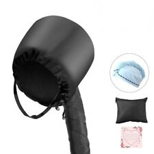Bonnet Hood Hair Dryer Attachment with Blue Towel,Portable Cap Hand Free