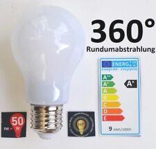 10x AIRAM LED Glühbirne 9W E27 3000 K SPARLAMPE LAMPE LICHT Birnenform > 360°