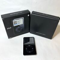 Apple iPod 5th Generation Classic 30 GB MA146LL/A Black For Parts