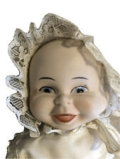 Vintage Unusual Three 3 Faced Doll
