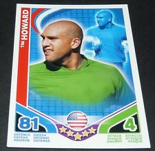 TIM HOWARD USA SOCCER TOPPS MATCH ATTAX CARD GAME FOOTBALL 2010 PANINI