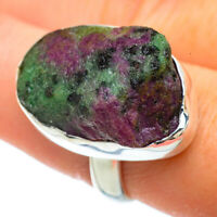Ruby Zoisite 925 Sterling Silver Ring Size 9 Ana Co Jewelry R42268F