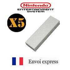 Lot de 5 cales en polystyrène pour boite de jeux NES - insert box tray
