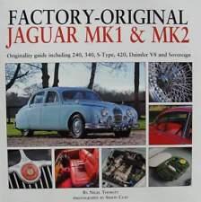 LIVRE/BOOK : JAGUAR MK1 & MK2 (guide 240,340,s-type,420,daimler v8,sovereign
