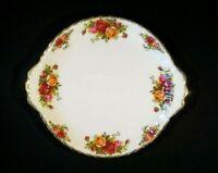 Beautiful Royal Albert Old Country Roses Cake Plate