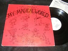 Black American Educator Private LP THOMAS MOORE Sings MY MAGICAL WORLD 1981 KIDS