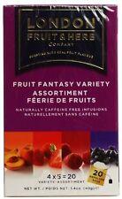 London Fruit & Herb Co Fruit Fantasy Variety Pack 20 Bags (Pack of 2)
