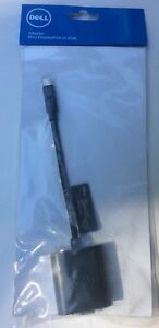 BRAND New Genuine Dell Mini Display Port to VGA Adapter Free Shipping