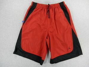 Jordan Brand 20th Anniversary Edition Long Basketball Shorts (Mens XXL) Red