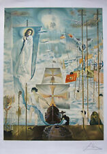 """Salvador Dali """"Discovery of America by Columbus"""" Hand Signed Ltd Ed Lithograph"""