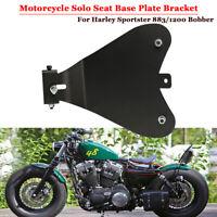 Motorrad Solo Sitz Grundplatte Halter Sattel Montage Platte für Harley Honda