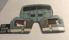1939 world's fair Plymouth Chrysler motors beater car glasses