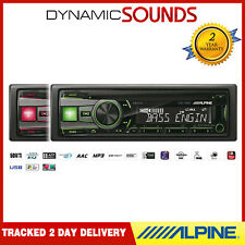 ALPINE cde-190r un DIN CD MP3 USB Auxiliar radio de coche Player Verde O ROJO