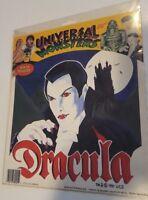 1992 Universal Studios Monsters Dracula Iron-On T-Shirt Transfer w/ Bonus !!!