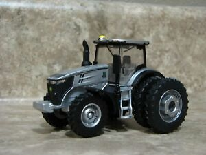 Ertl 1/64 Silver John Deere 7290R Tractor Farm Toy 100 Years Duals