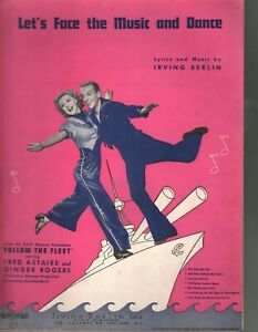 Let's Face The Music and Dance 1936 Fred Astaire Ginger Rogers Follow The Fleet