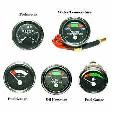 Tractor Gauge Set OIL, WATER TEMPERATURE AND FUEL TECHOMETER