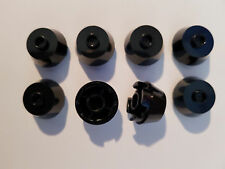 Lego 8 x 98100 Cone Stone 2 x 2 round Black 4653822 (#Ah89) Railway Star