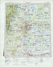 Russian Soviet Military Topographic Maps - CHELYABINSK (Russia) 1:500K, ed.1981